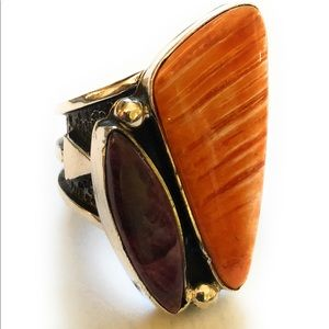 Jewelry - Russell Dam Spiny ring size 10